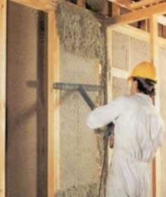 Spray on Cellulose Insulation