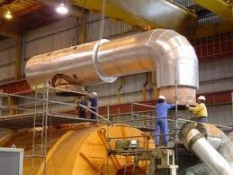 Insulating Commercial Pipes