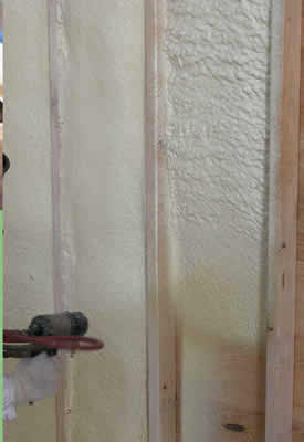 Spray Foam Walls